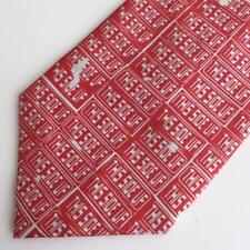 Andy Warhol This Side Up Mens Silk Tie Warhol Live de Young Museum San Francisco