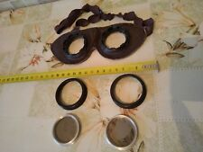 "Vintage moto-glasses helmet Eyewear USSR 1950"" 1960""s Russian motorcycl"