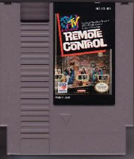 MTV REMOTE CONTROL NINTENDO GAME CLASSIC SYSTEM NES HQ