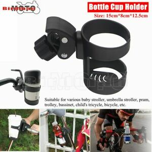 Bicycle Cup Holder Stroller Water Bottle Cage Mount Universal Drink Cup Holder