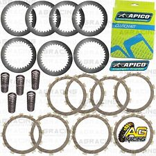 Apico Clutch Kit Steel Friction Plates & Springs For Kawasaki KX 250F 2014 MotoX