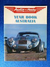 "AUSTIN-HEALEY "" YEAR BOOK AUSTRALIA "" 1978 - 1979 rare"