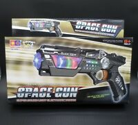 New Plastic Pistol Toy Gun with Light Sound & Vibration Effects For Kids Game