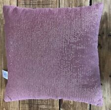 Next Pink Sparkle Cushion 12 X 12