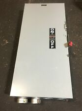 Ge Th4325 Heavy Duty Fusible Safety Switch 240 Vac 250 Vdc 400 Amp 125 Hp