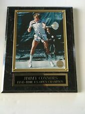 Jimmy Connors mounted autograph 8 X 10 photo PSA  Tennis