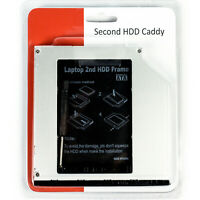 "New Second HDD Caddy SATA 9.5mm Optical Drive 2.5"" Adapter -Dell Vostro/Latitude"