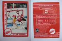 2015 SCA Allan Bester rare Detroit Red Wings goalie never issued produced #d/10