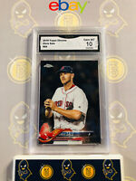 2018 Topps Chrome Chris Sale #69 - 10 GEM MINT GMA Graded Baseball Card