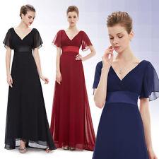 Ever-Pretty Short Sleeve V Neck Regular Dresses for Women