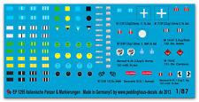 PEDDINGHAUS 1/87 1295 ITALIANO CARRO ARMATO E marcature veicolo ii. wk