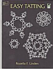 Dover Needlework Series, Easy Tatting by Rozella F. Linden - Softback