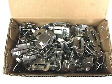 """New Box of 100 Strapping Buckles 3/4"""" 201 Stainless Steel Bu34 Seals"""