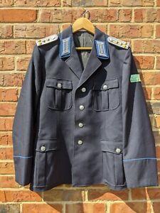 East German DDR MdI TRAPO Transportpolizei Hauptmann Dress Tunic