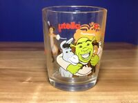 Shrek Nutella Glass