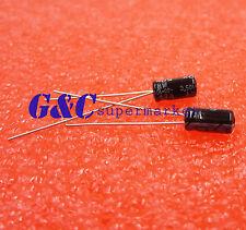 New listing 100pcs 10uF 50V 105°C Radial Electrolytic Capacitor 4*7mm