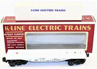 K-Line Union Pacific CLASSIC Flat Car Electric Trains K-6648A O/O27 Gauge
