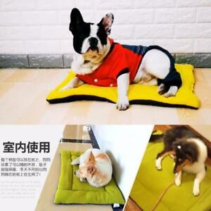 Winter Warm Pet Bed Cushion Pad Dog Cat Cage Kennel Crate Soft Cozy Mat XS-XL
