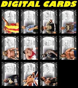 Topps WWE Slam 21 Tribute Series 2 Hall of Fame Signatures Silver SR 11 card set