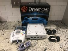 Sega Dreamcast System Original Box Complete Controller CIB Console White