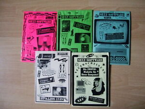 5 Erotik-Disketten 3,5 OVP---IBM-kompatibler MS-DOS--512 KB-RAM