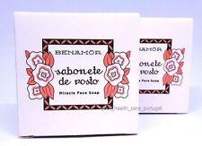 2x Benamor 1925 Miracle Face Soap Skin Cleanser Premium Portuguese 2x 90g/3.17oz