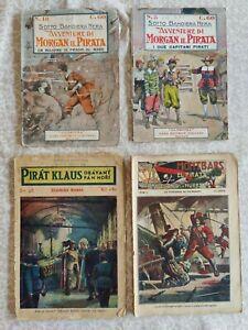 Pirat Klaus und Montbars , ausländische Ausgaben, Tschechien und Italien