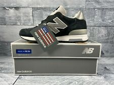 New Balance x J Crew 1400 Classic Running Shoes USA Navy Suede SZ [ M1400NV ]