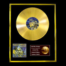 IRON MAIDEN LIVE AFTER DEATH CD GOLD DISC LP FREE P&P!