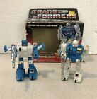 G1 Transformers Lot Twin Twist With Box And Topspin
