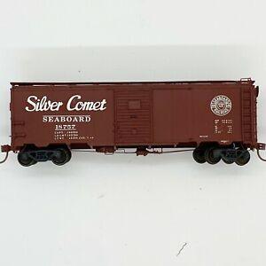 "Sunshine Models Kit #21.14 Seaboard ""Silver Comet"" A.R.A. 1932 Boxcar - BUILT"