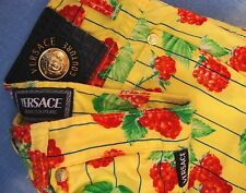 TROUSERS vintage VERSACE Jeans Couture made in Italy TG 28-42 circa S