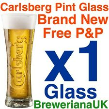 Single Carlsberg Reward Pint 20oz Glass Brand New 100% Genuine Official