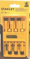 Stanley Hand Tools 66-052 6 Piece Precision Screwdriver Set