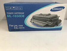 GENUINE SAMSUNG TONER ML-1650D8 FOR ML1650 & ML1651N-SEALED-STOCK LEFT OVER SALE