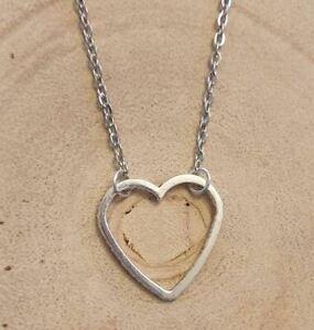 Heart choker necklace, heart chain choker, love heart choker, heart necklace