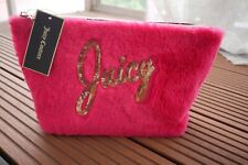 NWT Juicy Couture Velour Cosmetic Bag
