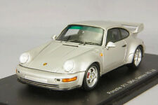 Spark 1:43 Porsche 911 (964) Carrera RS 3.8 Silver from Japan