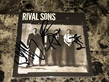 Rival Sons Rare Authentic Band Signed Great Western Valkyrie CD Autographed COA
