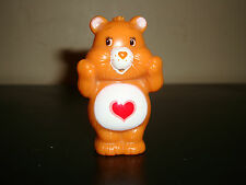 "Care Bears Orange Heart Tenderheart PVC Figure Standing Pencil Cake Topper 2.5"""