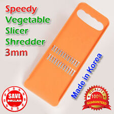 3mm Vegetable Grater Fruit Slicer Cutter Knife Hand Held Quality MADE IN KOREA