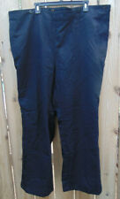 Genuine German Navy Wool blend Gabardine Flap Pants Size 80-128-132,3Xl,ex. cd.
