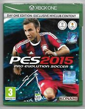 Pes 2015 Day One Edition Exclusive Myclub / Game Xbox One / New in Cello