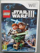 Jeu LEGO STAR WARS III 3 THE CLONE WARS - Nintendo Wii - Français (PAL)