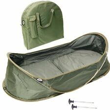 Carp Fishing Pop Up Cradle / Unhooking Mat with Carry Case and pegs