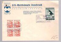 Austria Osterreich, 1936 Ski World Cup cover with special cancel      -BO86