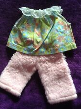 Doll's Outfit For Small Doll, Trousers 8 ins and Smock 6 ins,