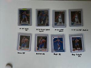 2019-20 RJ Barrett NBA Card Rookie lot *Prizm, Optic, Donruss, Hoops)