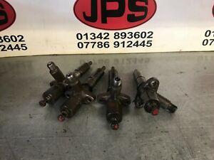 Set of 4 diesel injectors X International 674, 54 , 74 series, etc £100+VAT