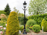 Victorian Cast Aluminium Decorative Lamp Post & Lantern Top - Garden Patio Light